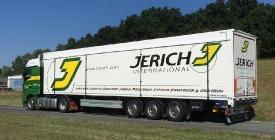 Schubbodenauflieger Jerich Spedition Austria